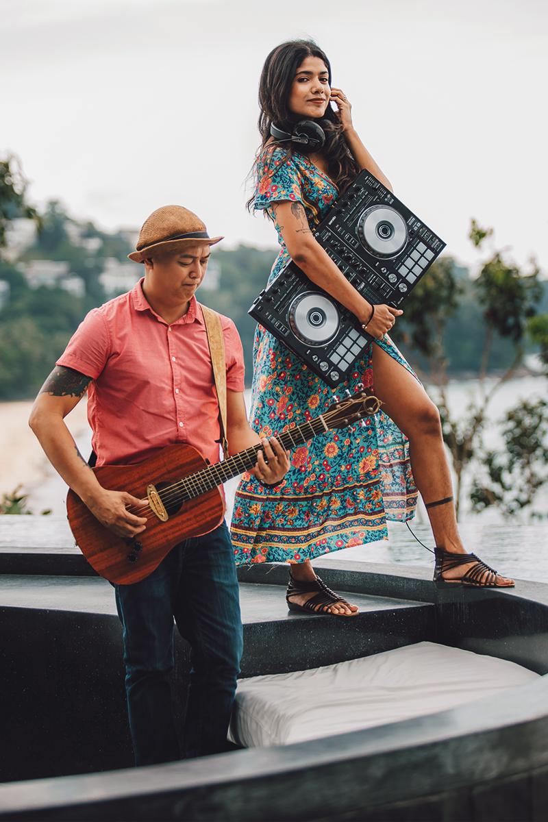 DJ LADDA & Guitarist