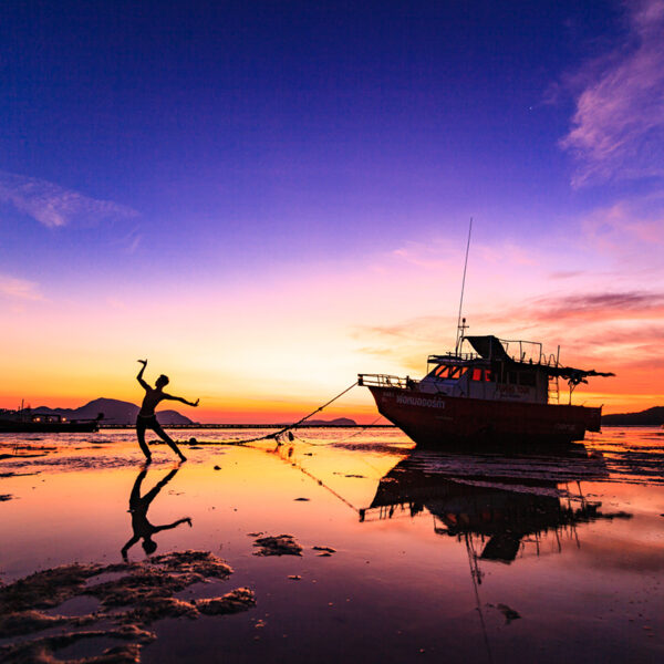 Phuket Photography Services - Landscape Photography - Dancing In The Dawn Rawai Beach