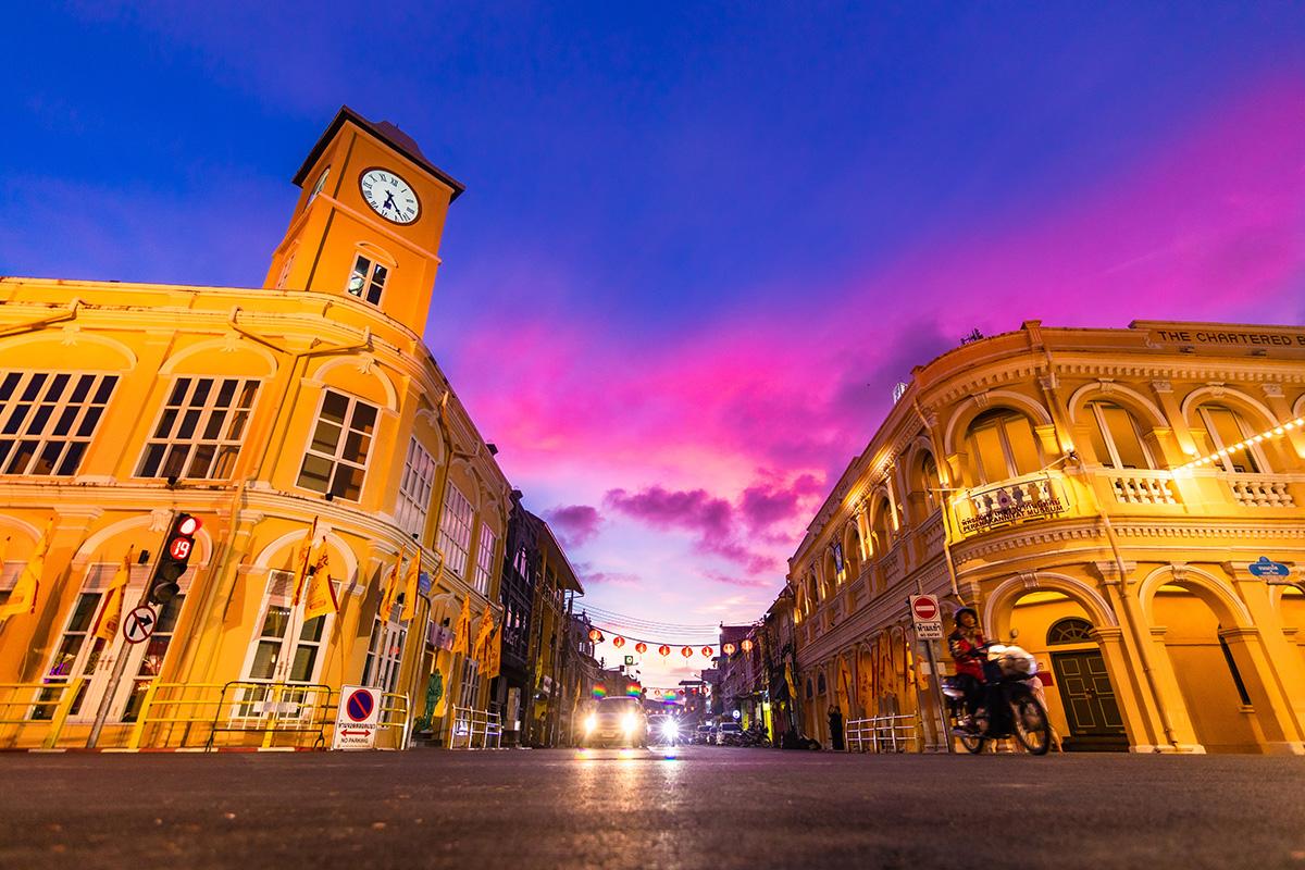 Phuket Photography Services - Phuket Old Town Sino-portuguese Architecture