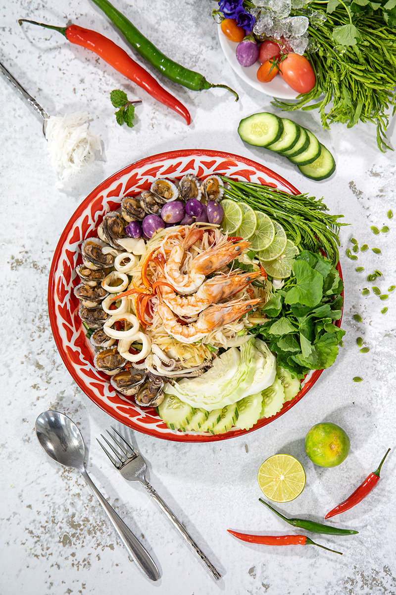 Phuket Food Photographer Som Tam Jaoying Part I